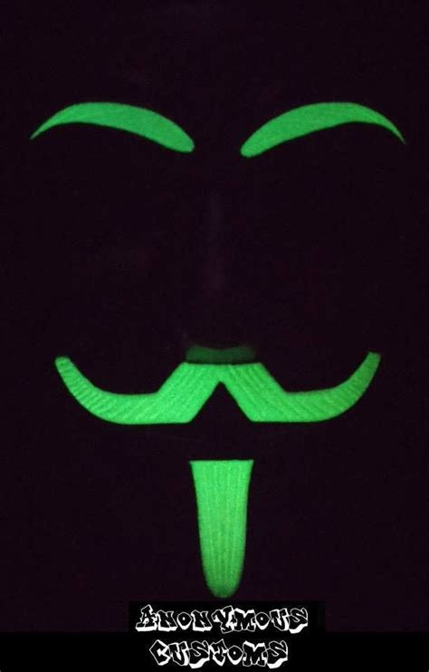 Custom Murah Glow In Te 54 best images about anonymous fawkes masks on glow antique silver and antique gold