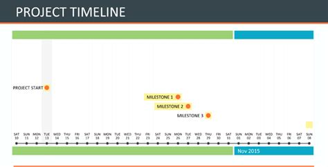 Project Timeline Template For Excel 174 And Word Microsoft Word Timeline Template