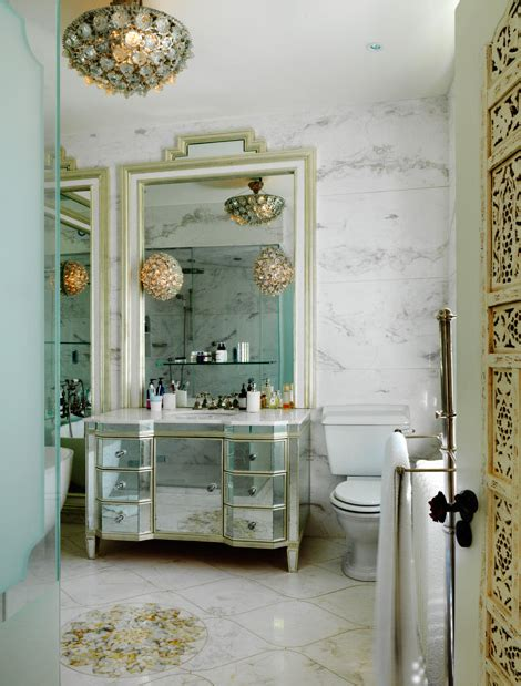 glam bathroom ideas wicker stitch bathroom