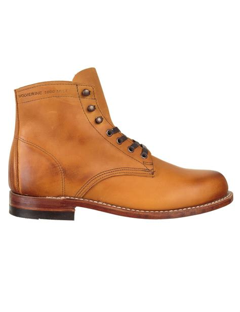 wolverine 1000 mile boot casual shoes from iconsume uk