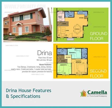 camella homes drina floor plan drina house floor plan