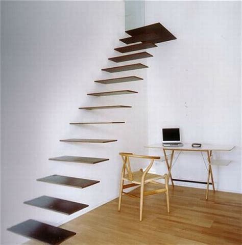 Interior Illusions Home 21 of the most interesting floating staircase designs
