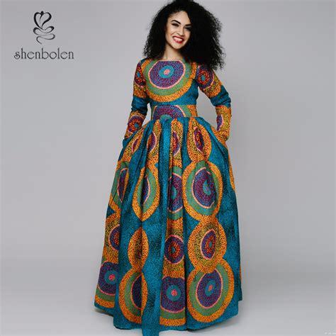 Afiqa Dress 2016 new africa clothing collar