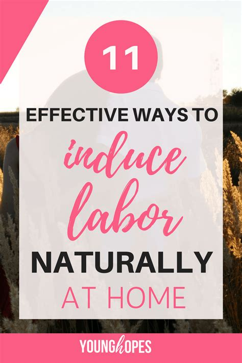 effective ways  induce labor naturally  home