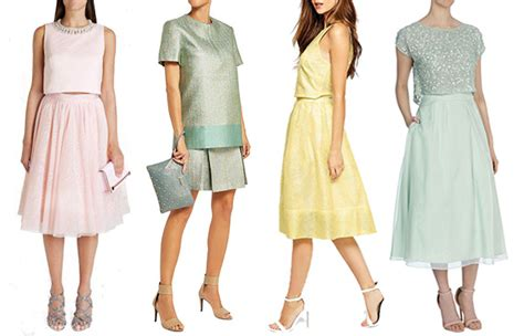 Summer Garden Wedding Guest Dresses - chic co ords spring wedding guest fashion 2015 onefabday com uk