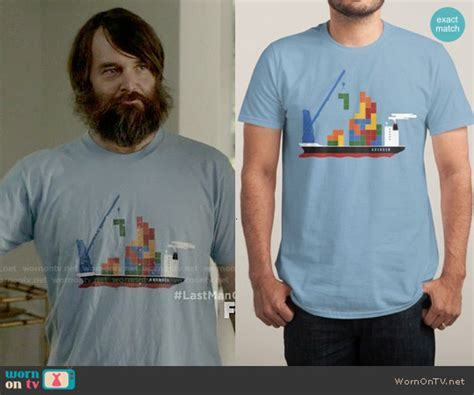 T Shirt Kaos Last On Earth wornontv phil s blue tetris t shirt on last on earth