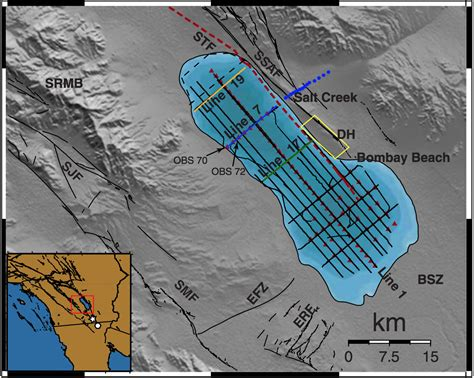 earthquake fault lines a second fault line running parallel to san andreas has