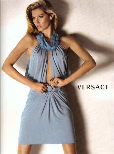 Fab Ad Gisele Bundchen For Versace by Gisele Bundchen Versace Summer 2008 Ad Caign
