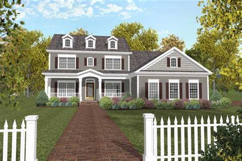 House Plans With Inlaw Suites by Traditional Colonial Home With 4 Bedrms 2234 Sq Ft