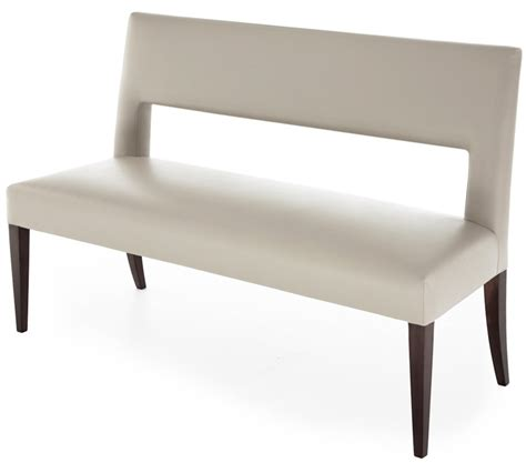 bench from chairs the hugo dining bench the sofa and chair company