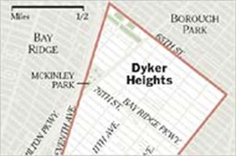 living in dyker heights brooklyn short on subway
