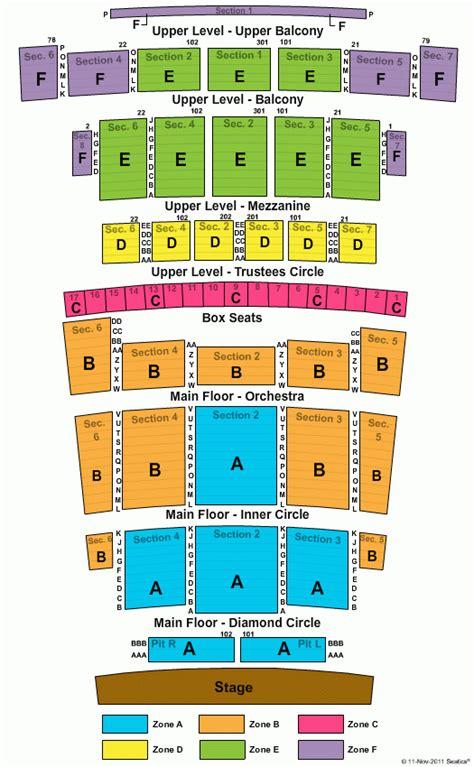 detroit opera house seating map seating chart detroit opera house brokeasshome