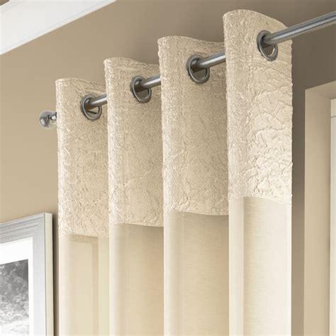 gardinen creme madeira curtain panel voile tonys textiles