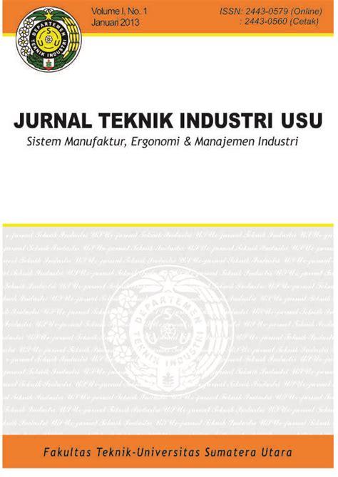Rekayasa Sistem Manufaktur jurnal teknik industri usu