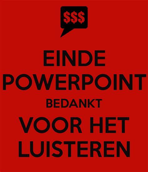 Mug Design by Einde Powerpoint Bedankt Voor Het Luisteren Poster Dvdp