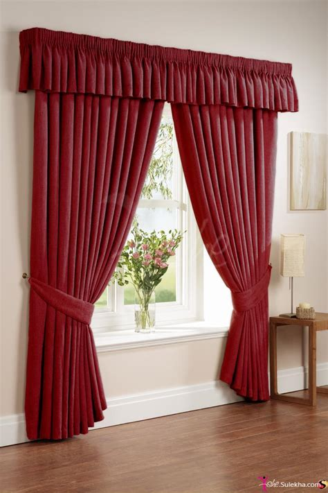 home curtain rich red home curtains photo picture 1598