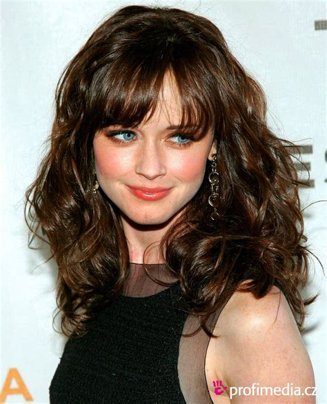 hairstyles of curls 30 cute styles featuring curly hair with bangs fave