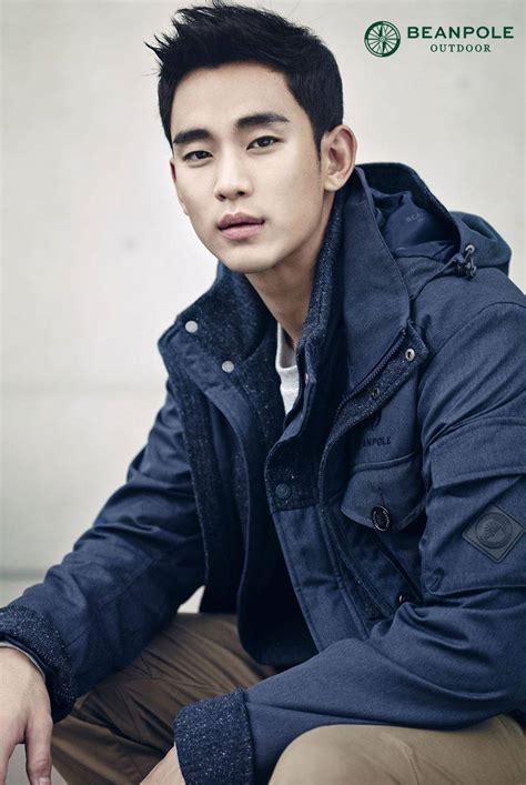 kim soo hyun kim soo hyun looks handsome in beanpole outdoor clothing