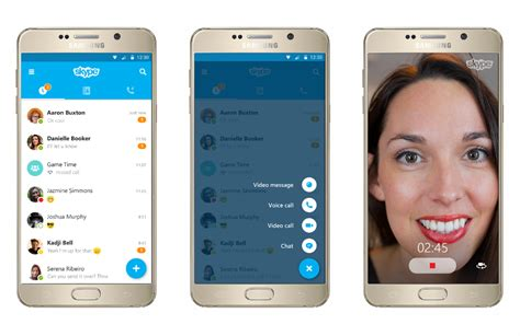 skype on android skype pour android l application arbore enfin un nouveau design frandroid
