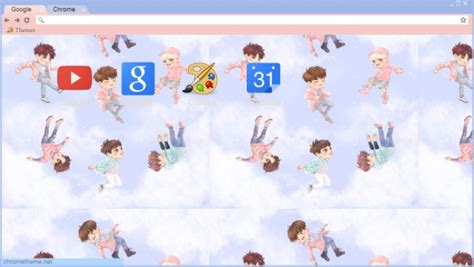 theme google chrome got7 got7 fly fanart by abimabima chrome theme themebeta