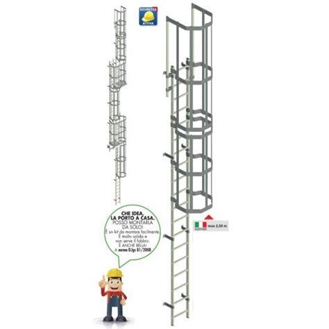 scala a gabbia scala marinara a gabbia per tetti in alluminio
