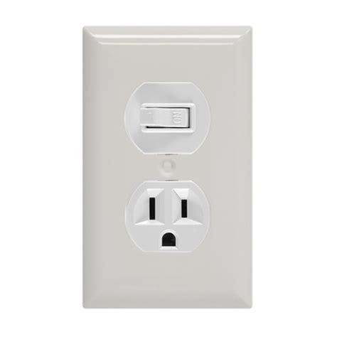 ge wall switch outlet single pole white jasco