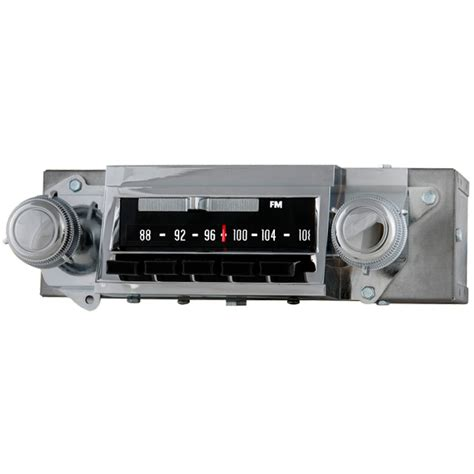 1967 chevelle radio with bluetooth oe replica 612201b
