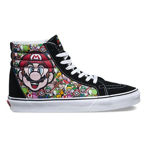 Harga Vans Sk8 Hi Nintendo nintendo sk8 hi reissue shop shoes at vans