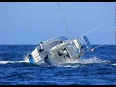 fishing boat sinks fishing boat sinks by marlin youtube