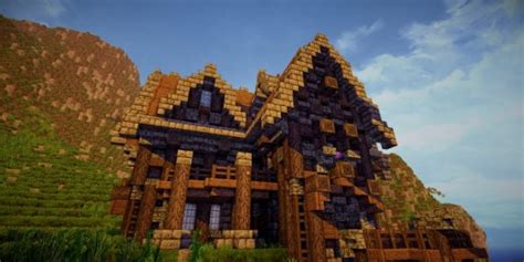 Minecraft Cottage Ideas by A Survival Home In The Town Minecraft House Design
