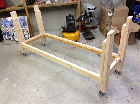 work bench frame workbench frame a lesson learned