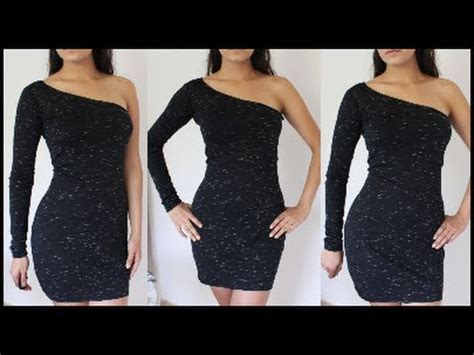 Hq 16708 Shoulder Belted Dress how to sleeve one shoulder dress