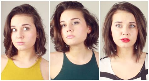 hairstyles for short hair to make it look longer how to pull off short hair or something like that youtube