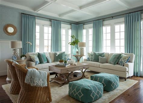 House Of Turquoise Living Room by Inspired Home With Blue And White Kitchen Home
