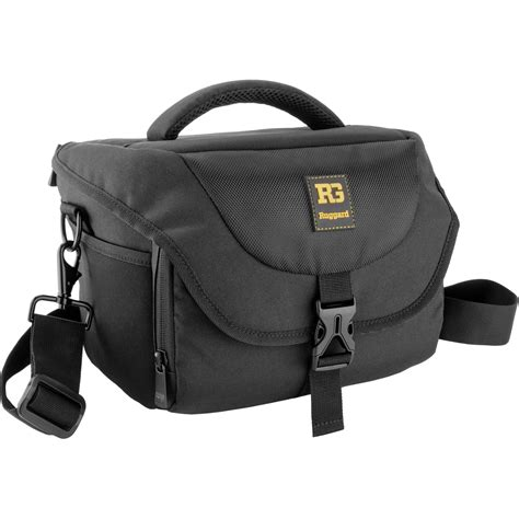 dslr bag ruggard journey 34 dslr shoulder bag black psb 134b b h