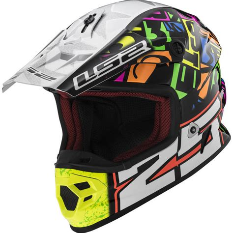 motocross helmet light ls2 mx456 light evo punch motocross helmet new arrivals