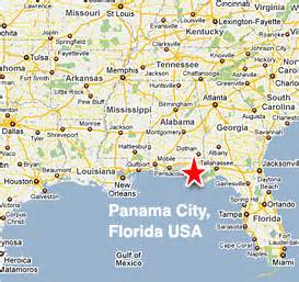 map of hotels in panama city fl my