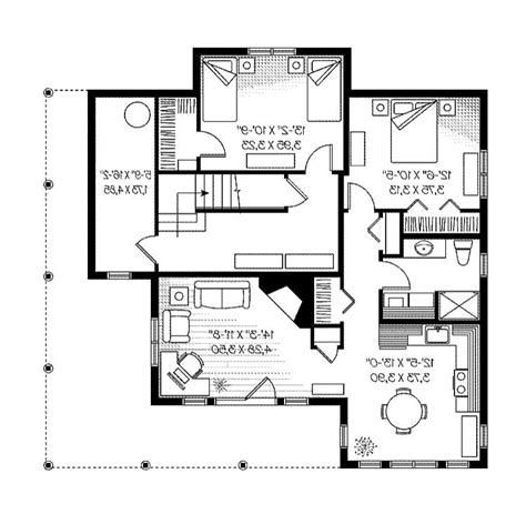 narrow lot ranch house plans house plans and photos