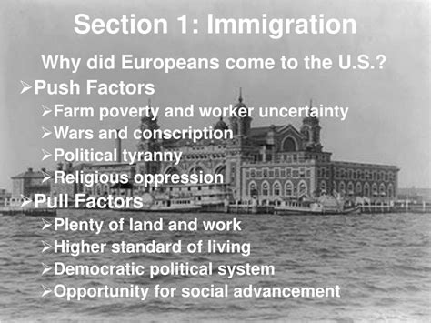 immigration section ppt urban america 1865 1896 powerpoint presentation id