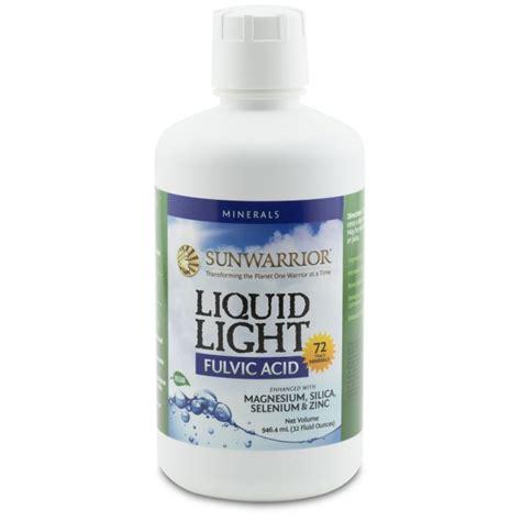 Light Detox by Sunwarrior Liquid Light Cleansing Concepts Colon