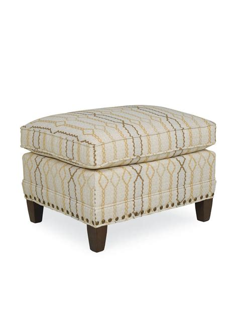 cottage style chairs and ottomans onset upholstered ottoman cottage home 174