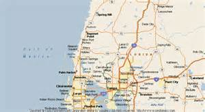 hudson florida map map of hudson