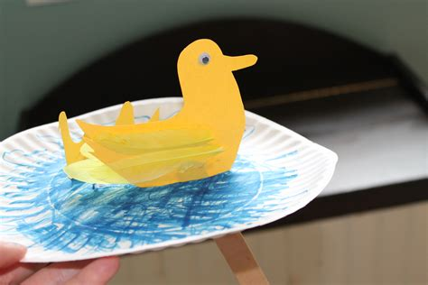 Duck Paper Craft - monday moments