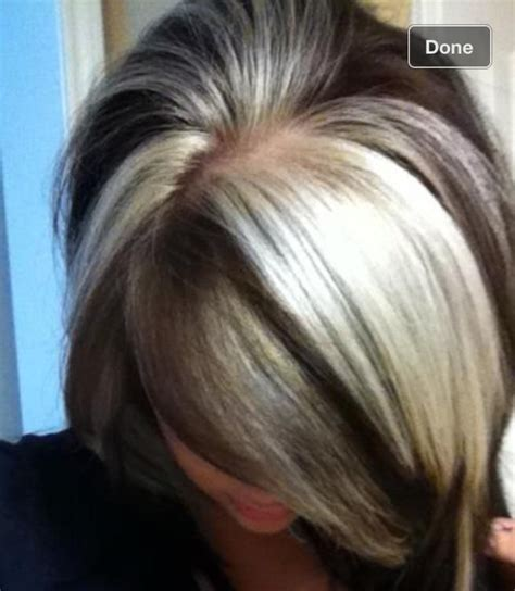 dramatic highlights for gray roots best 25 chunky highlights ideas on pinterest blonde