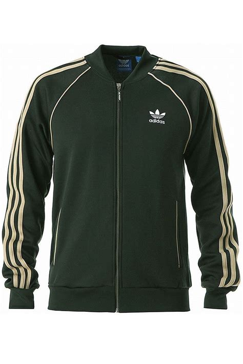 adidas mens original trefoil baseball collared tracksuit zip up track top jacket ebay