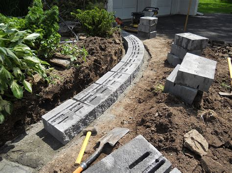 How To Build A Garden Wall Retaining Walls Almost Landscaping