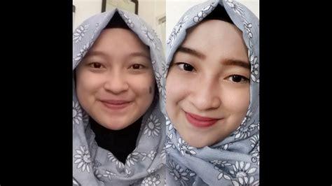 tutorial make up untuk sehari hari tutorial make up dan hijab untuk sehari hari youtube