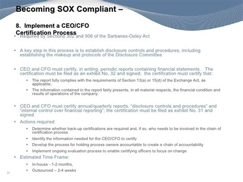 section 302 certification protiviti s tips will you be ready for an ipo when the