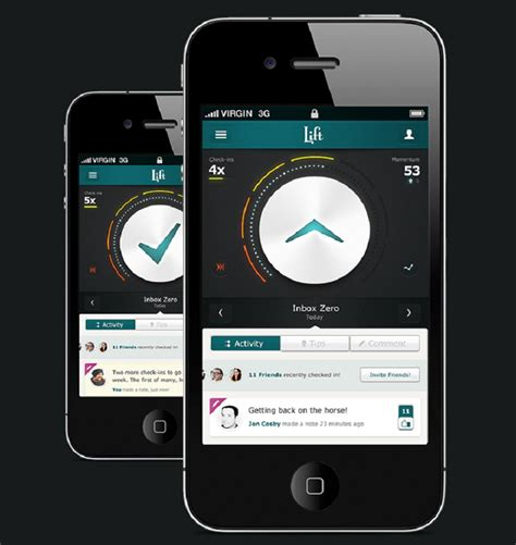 iphone app layout exles 10 mobile app designs for user experience inspiration