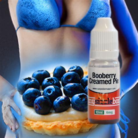 Hysteria Liquid Boo Berry booberry creamed pie mysizzlebox